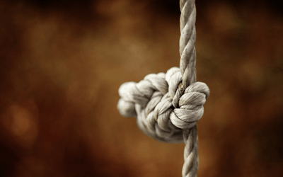 When you're at the end of your rope