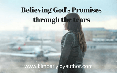 Believing God's promises through the tears