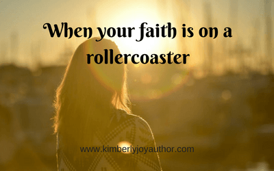 When your faith is on a rollercoaster