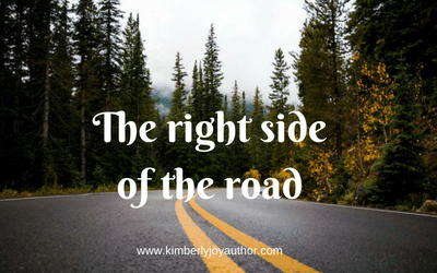 The right side of the road