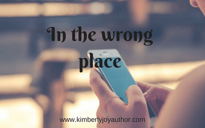 In the wrong place