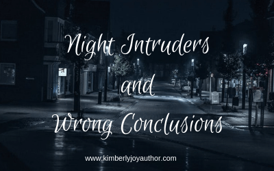 Night intruders and wrong conclusions