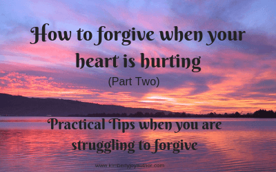 Forgiveness, Part Two