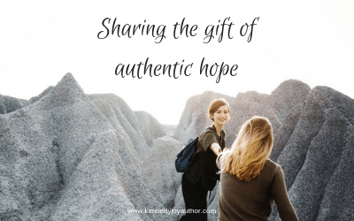 Sharing the gift of authentic hope