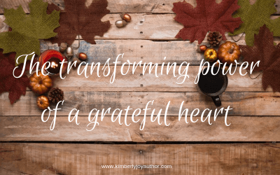 The transforming power of a grateful heart