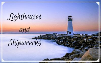 Lighthouses and shipwrecks