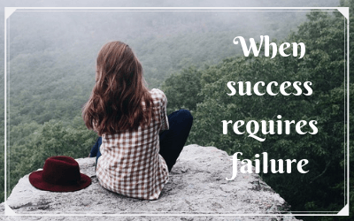 When success requires failure