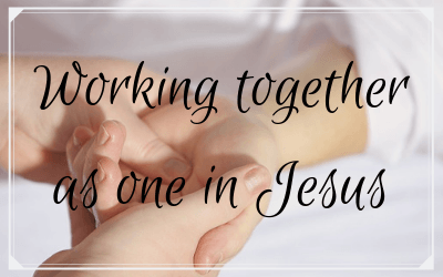 Working together as one in Jesus