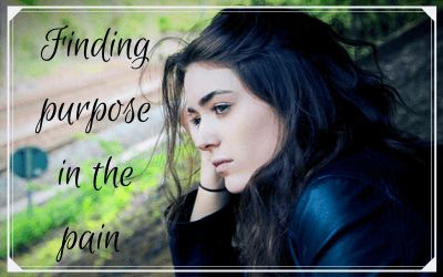 Finding purpose in the pain
