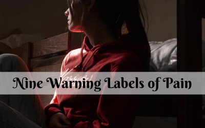 Nine Warning Labels of Pain