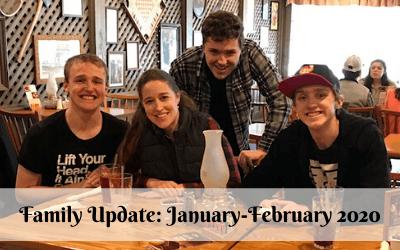 Family Update: January-February 2020